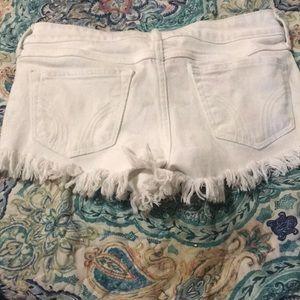 Hollister Shorts - White Hollister Shorts